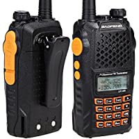 BaoFeng UV-6R Dual Band Two Way Radio Transceiver 136-174/400-520MHz High Power 5W/1W