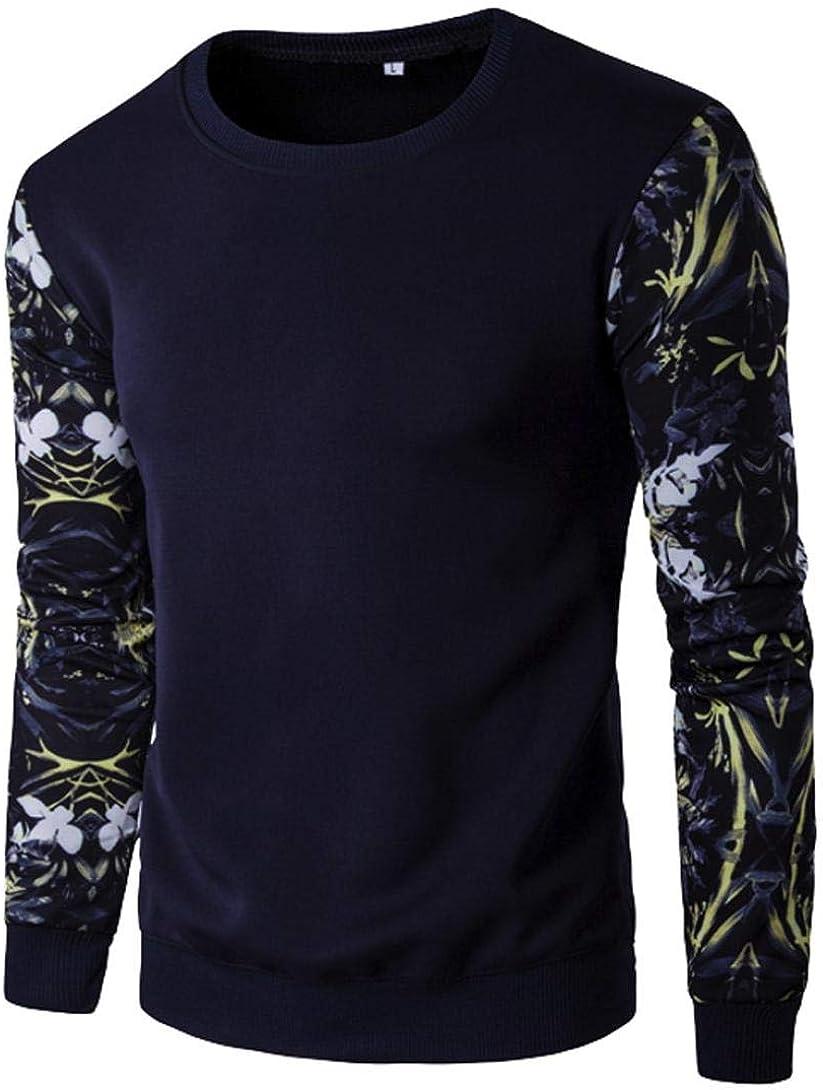 Camisa de Manga Larga con Estampado de Flores de Manga Larga ...