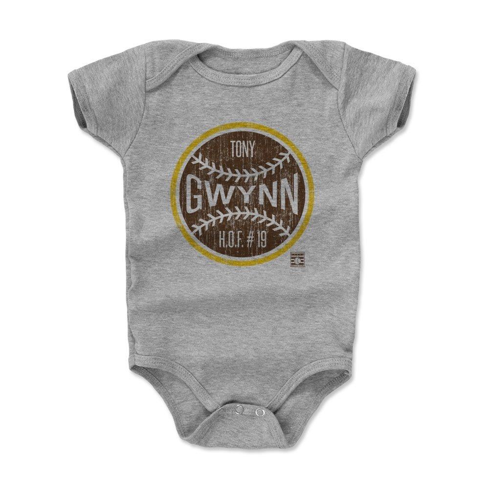 殿堂 500レベルのTony Gwynn Infant & – Baby 18 Onesieロンパース – San Diego野球ファンギア野球の殿堂の公式ライセンス - – Tony GwynnボールN B072SDHH7G ヘザーグレー 18 - 24 Months 18 - 24 Months|ヘザーグレー, ヒコネシ:3c382372 --- svecha37.ru