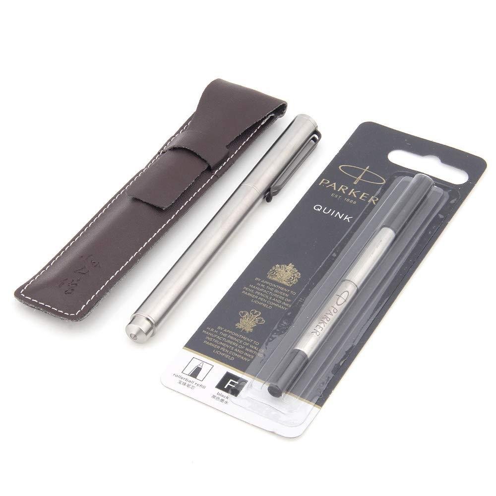 TITANER Titanium Tactical Pen Signature Pen Office Pen Titan (Version 2.0) Titanium Tactical Pen (Silver) by TITANER (Image #6)