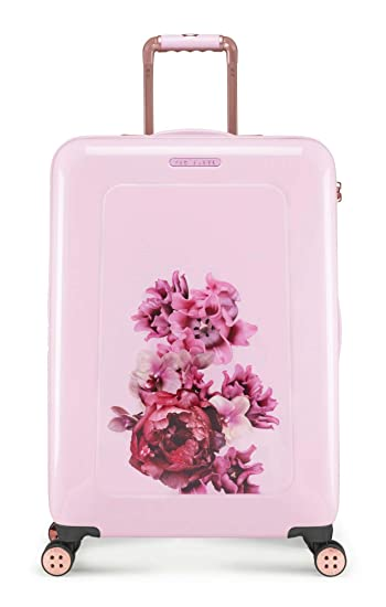 Amazon.com   Ted Baker Luggage Floral Hardside Hardside 28 Inch Lightweight  Spinner (Splendor Pink)   Suitcases f181fe0dab