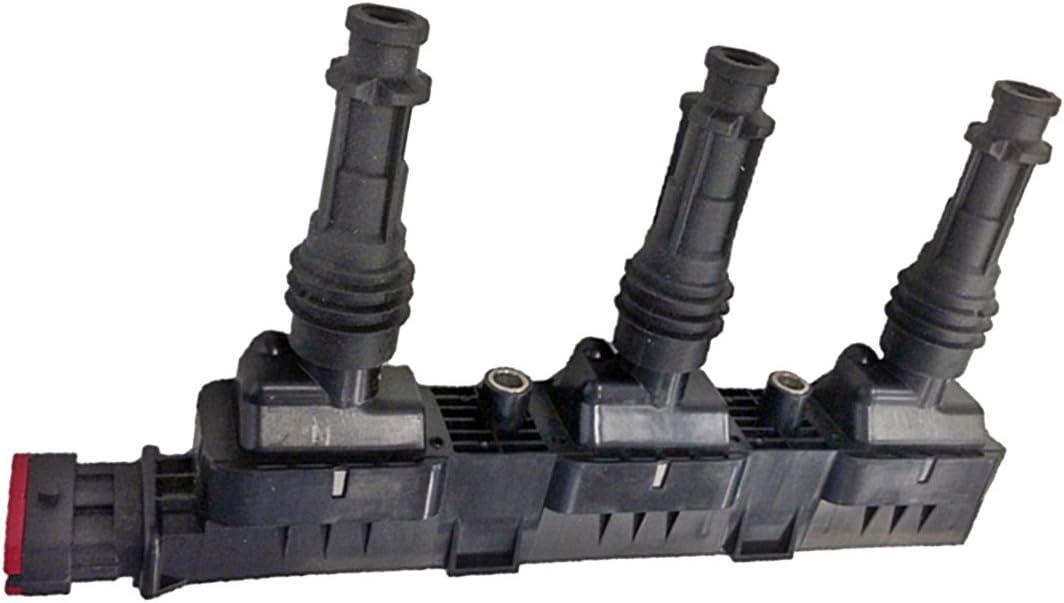 Blockz/ündspule 12V 5-polig HELLA 5DA 358 000-351 Z/ündspule geschraubt