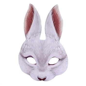 Childrens Leopard Mask Animal Fancy Dress Costume Disguise Padded Eye Fur Mask