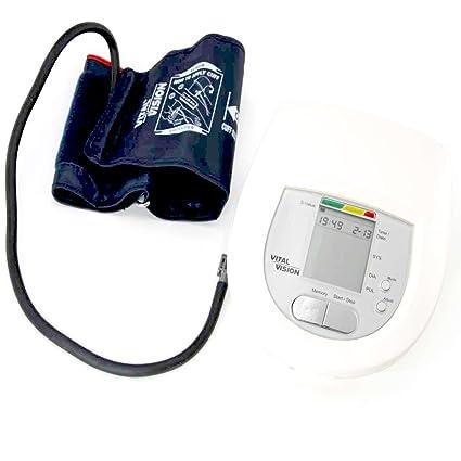Vital Vision® – Medidor Completo riesgo Cardio patas: Elasticidad de arterien + Tensiómetro +