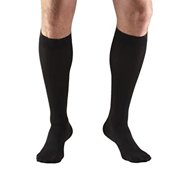 715196615bfc4 Truform 30-40 mmHg Compression Stockings for Men and Women, Knee High  Length,