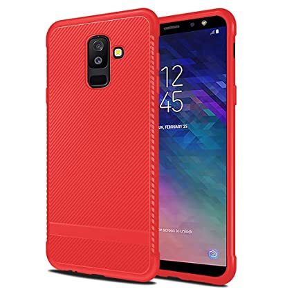 Amazon.com: Funda para Samsung Galaxy 6A Plus 2018 ...