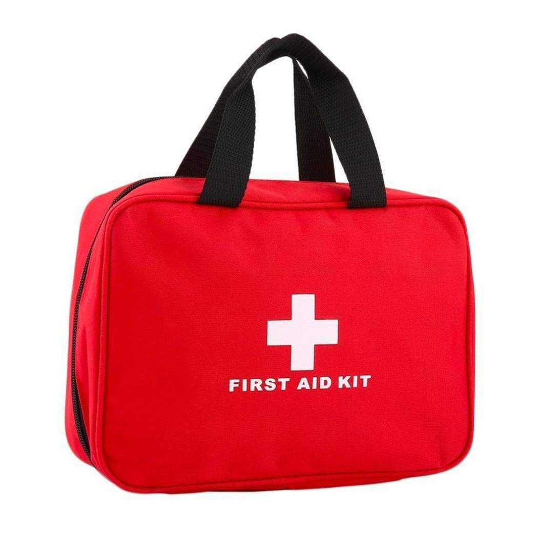 ICCUN Outdoor Travel Emergency Kit Big First Aid Empty Bag Waterproof Portable Bag First Aid Kits