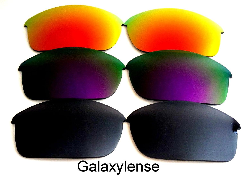Galaxis Ersatzgläser für Oakley Flak Jacket schwarz & lila & rot ...