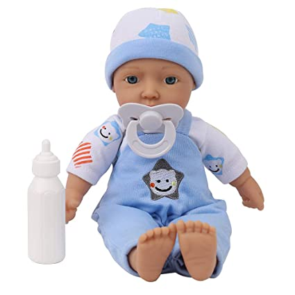 NBZH Bebé Reborn recién Nacido Vida como y Realista-Paquete de ...