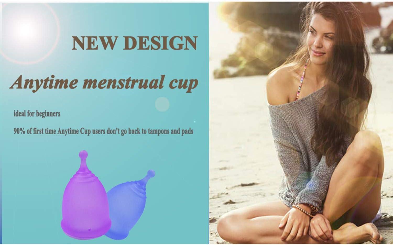 Copa Menstrual Copa de higiene Femenina Reutilizable Lady Cup ...