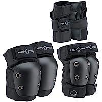 Pro-Tec Street Gear Junior 3 Pack Protecciones, Unisex