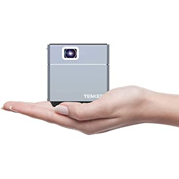 Amazon Com Tenker S6 Mini Cube Pico Projector With Wi Fi