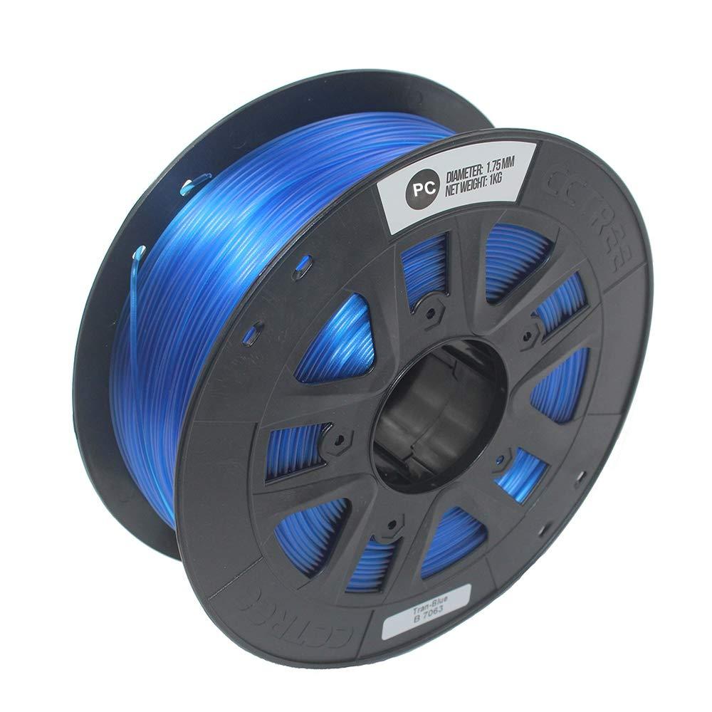Shuzhen,Impresora 3D PC 1.75MM Filamento 1kg Carrete Azul para ...