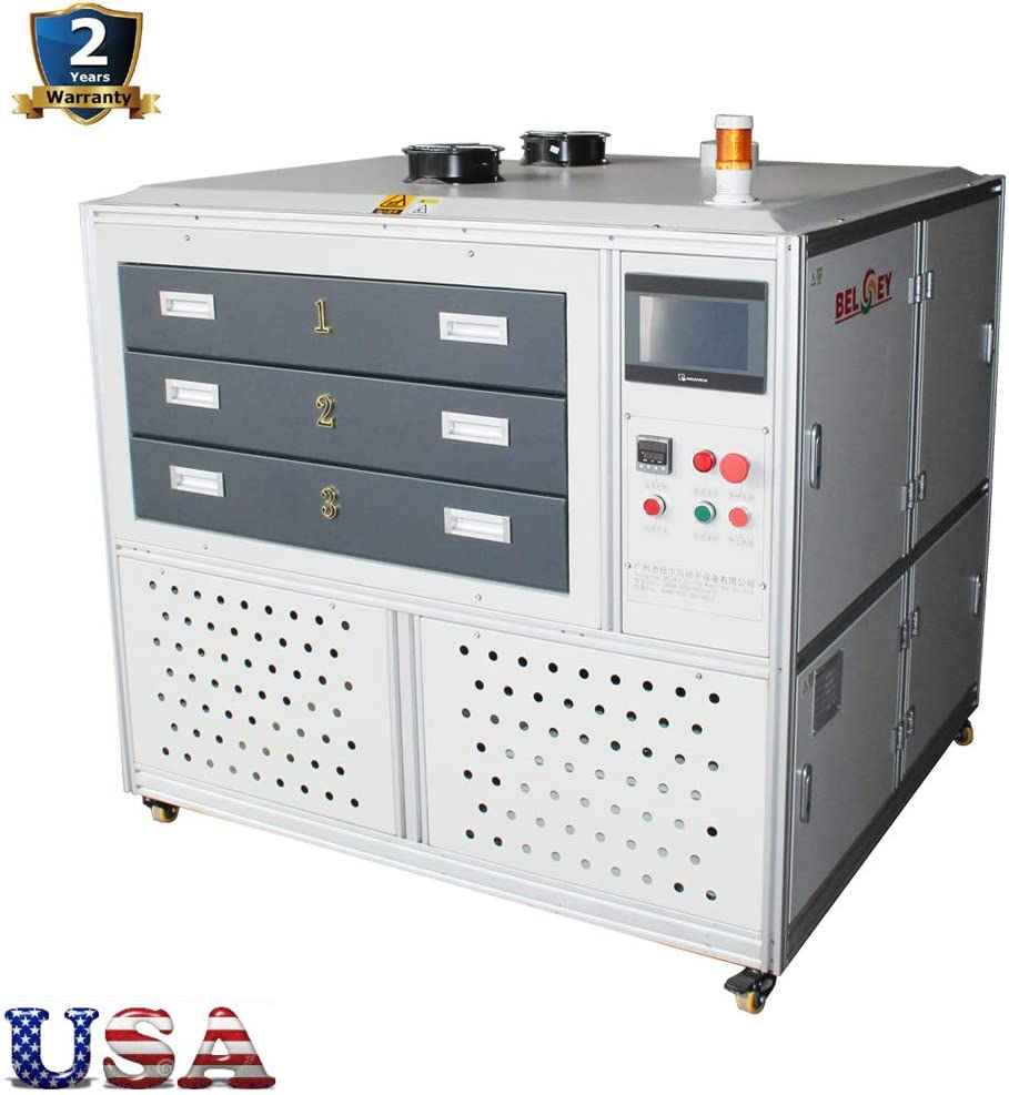 US Stock - 220V The Drawer Oven Dryer for Digital/Screen Printing