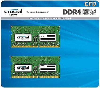 CFD販売 Crucial (Micron製) ノートPC用メモリ PC4-25600(DDR4-3200) 16GBx2枚 CL22 260pin 無期限保証 W4N3200CM-16G