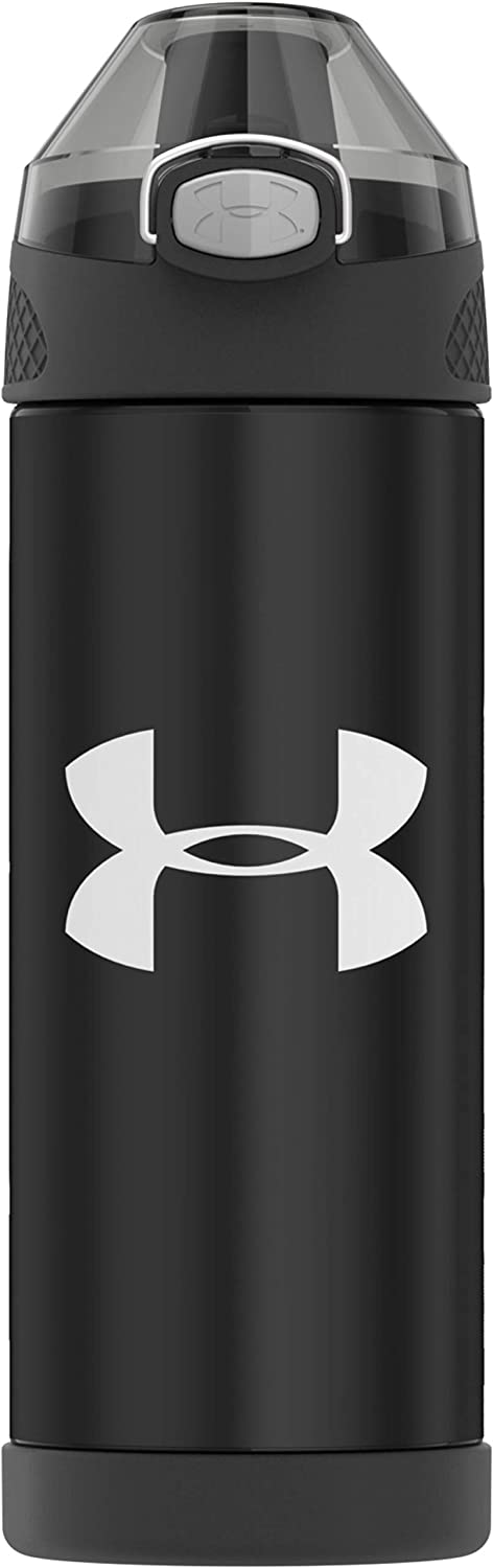 Under Armour Protege 16 Ounce Stainless Steel Water Bottle, Black