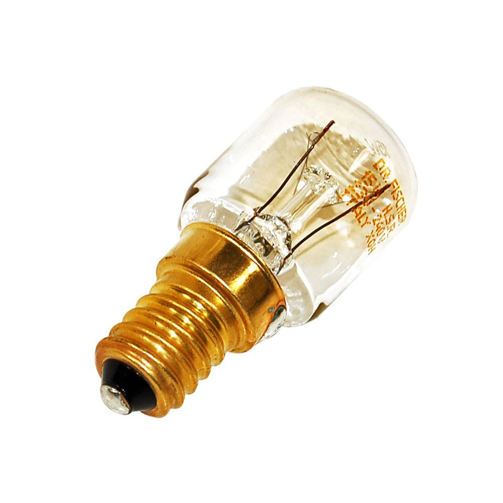 15Watt Pygmy Lamp Bulb - Ses (E14) for Whirlpool Generation 2000 Fridge Freezer Equivalent to 481913488135 Spares4appliances