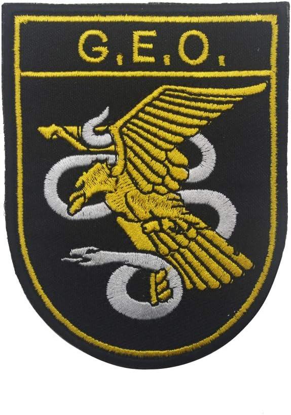 Parche de policía nacional táctico militar bordado Morale coser en ...