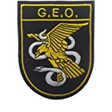 Gemelolandia Parche Termoadhesivo Cuerpo Nacional de Policía 9cm ...
