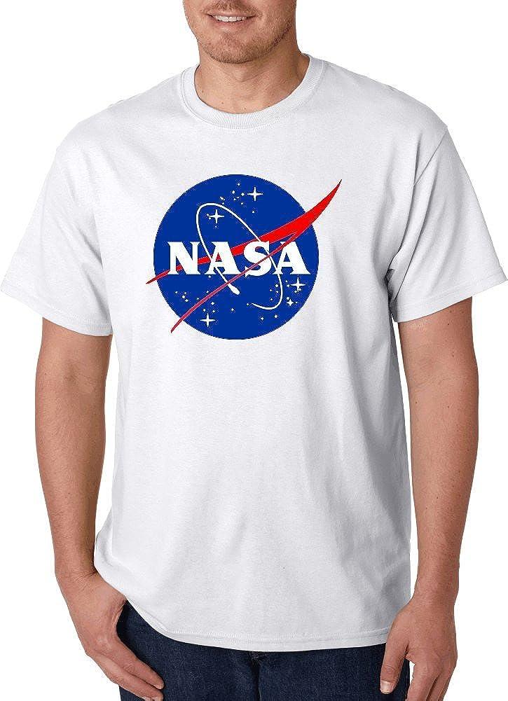 Gildan NASA Meatball Logo White, Black Gray T-Shirts.