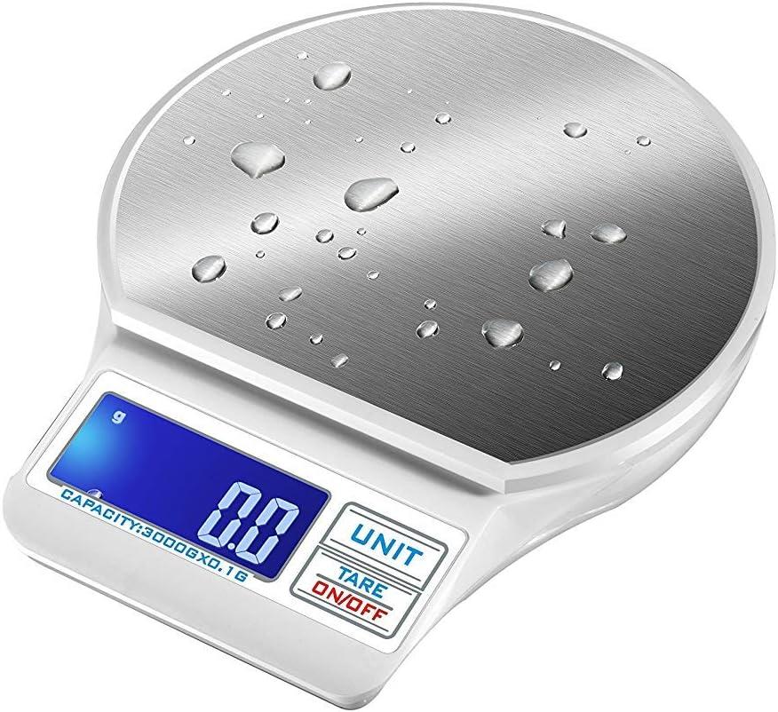 Digital Kitchen Scales Stainless Steel Digital Scales Scales Precision Scales Letter Scales 5kg//1g
