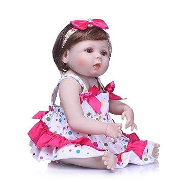 55 cm Bebé Reborn Moda Bebé Simulación Muñeca Lavable Completo ...