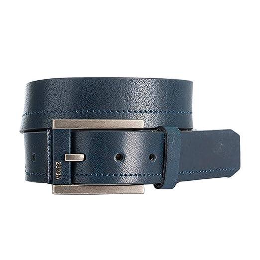 Amazon.com: VÉLEZ Genuine Leather Belt For Men | Correa Cinturones Cuero De Hombre: Clothing