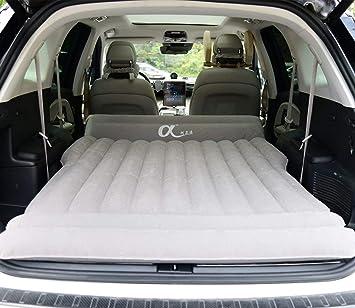 topfit Coche Colchón inflable Viaje Camping Cama de aire universal para todos los vehículos SUV y Personalizado para Tesla Model S Model X 5 Asiento y Model 3 Model Y
