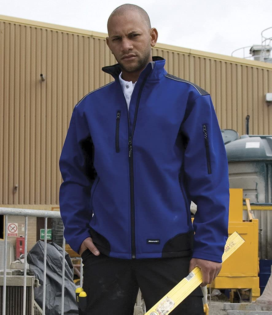 Result Work-Guard Men's Ripstop Work-Guard Soft Shell Jacket