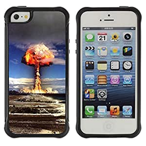 Hybrid Anti-Shock Defend Case for Apple iPhone 5 5S / Explosion