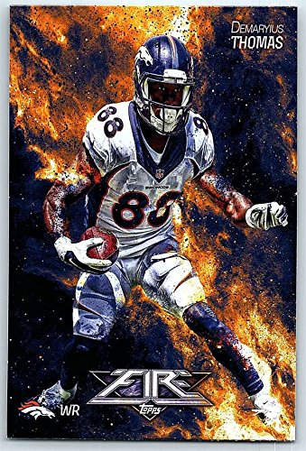 Football NFL 2014 Topps Fire #10 Demaryius Thomas NM-MT+ Broncos