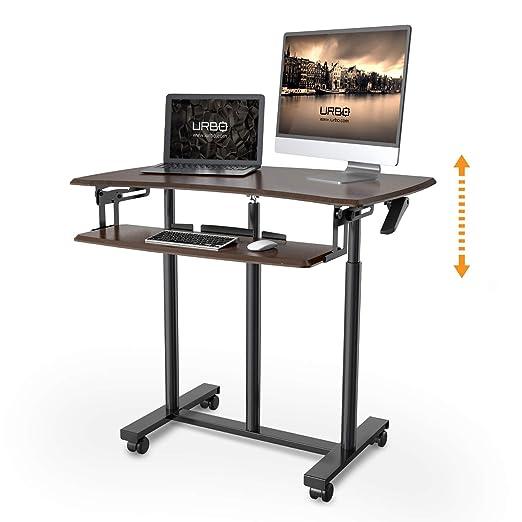 Urbo Salix escritorio ergonómico para trabajar de pie con doble ...