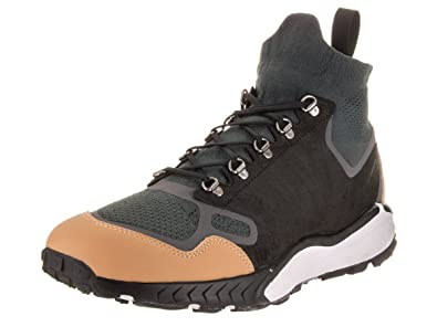 4a0ec7fde4625 Nike Men s Air Zoom Talaria Mid FK PRM Anthracite Black Vachetta Tan Casual  Shoe
