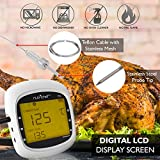 Smart Bluetooth BBQ Grill Thermometer Upgraded
