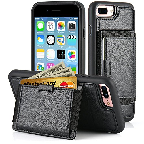 ZVE Leather Kickstand Durable Shockproof