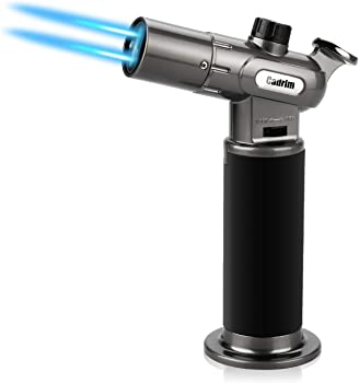 Cadrim Butane Torch Refillable Culinary Blow Torch