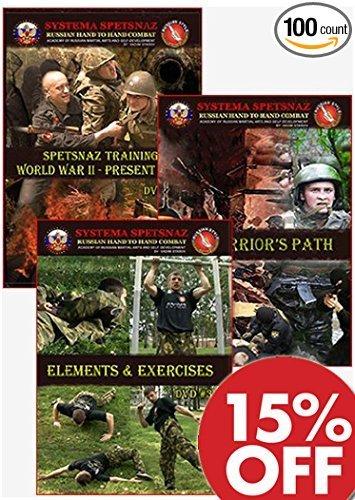 Russian Systema Spetsnaz Training 3 DVD set. Russian Martial Art Hand to Hand Combat DVDs - 15% Off (Best Martial Arts For Hand To Hand Combat)