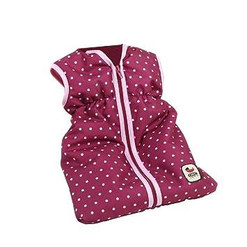 Bayer Chic 2000 792 29 - Muñecas saco de dormir, puntos de mora, violeta / rosa: Amazon.es: Juguetes y juegos