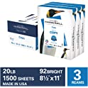 "3-Ream Case Hammermill 8.5"" x 11"" Multipurpose Printer Paper"