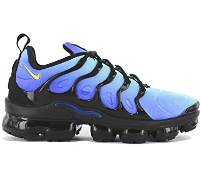 Nike - Air Vapormax Plus - 924453008 - Color  Black-Blue - Size  29fa67188