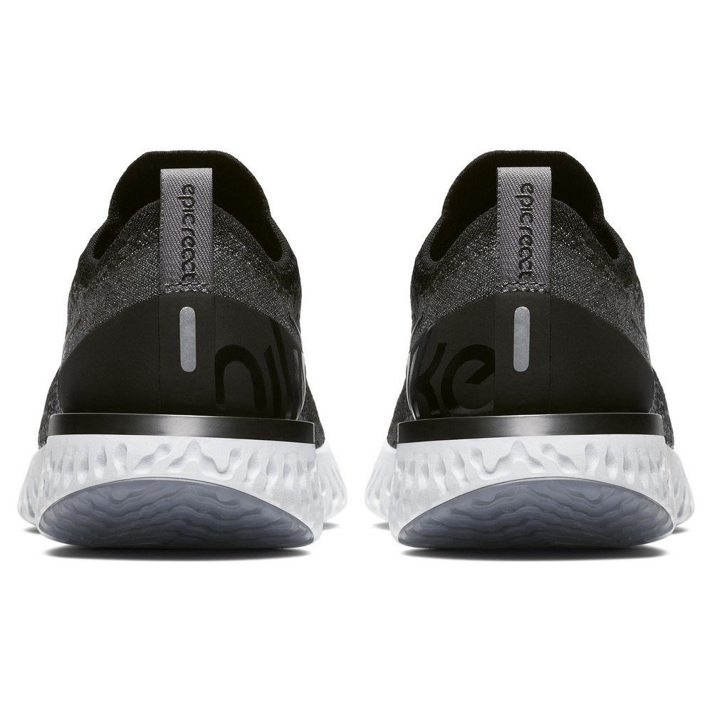 NIKE Women's Epic React Flyknit Running Shoes B079QK13LH 6.5 B(M) US|black