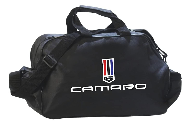 カマロ ブラック ロゴ ダッフル トラベル スポーツ ジム バッグ バックパック B07PXN171B