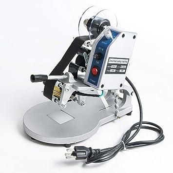 TOPQSC Máquina de codificación Impresión de cinta Térmica directa ...