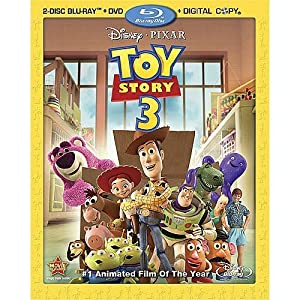 Toy Story 3 (Four-Disc Blu-ray/DVD Combo + Digital Copy) (2010)