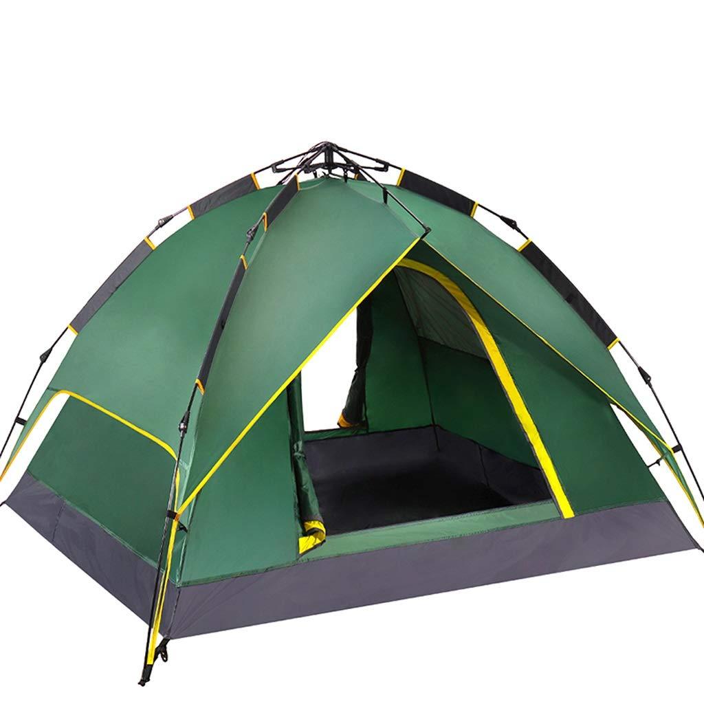 Zhijie Automatische hydraulische Haube-Zelt-Überdachung für kampierende Wasserdichte Zelte Person 3-4