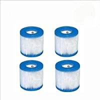 HHDL Type 1 van 2/4 Pack Vervanging Zwembad Filter Cartridge voor Bestway Filter Pompen Gemakkelijk Set Up (4 stuks)