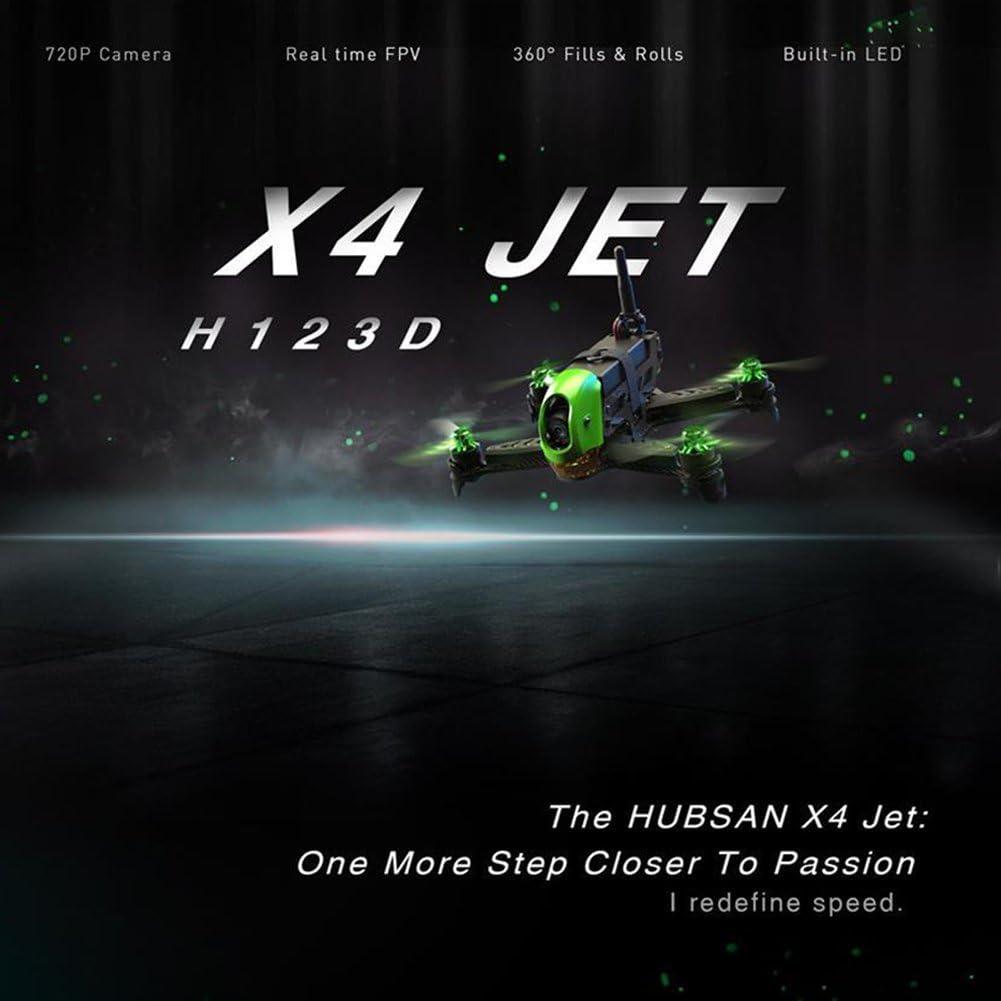 HUBSAN X4 Jet Brushless Carbon Racing Drone W//HT012D Émetteur /& écran vidéo