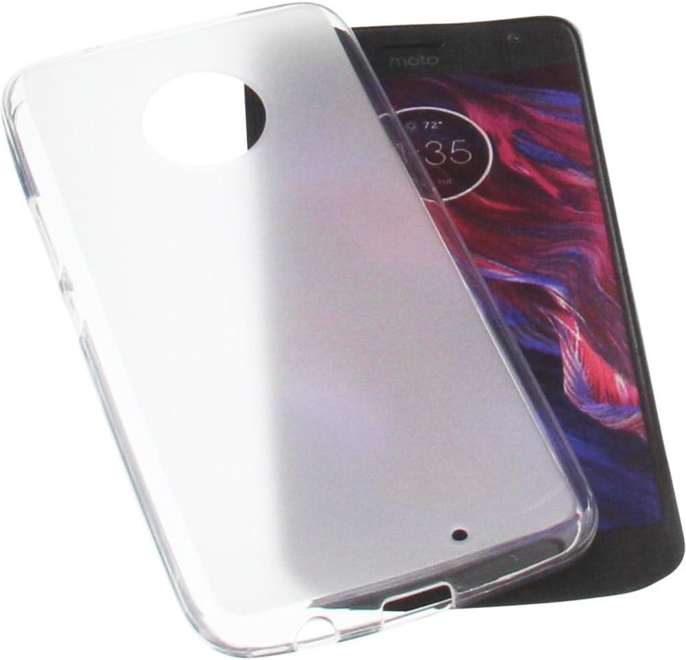 Funda para Motorola Moto X4 Protectora de Goma TPU para móvil Transparente Blanca: Amazon.es: Electrónica