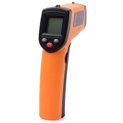 Compra Xcellent Global Termómetro Medidor Infrarrojo Láser IR Digital Temperatura LCD S-HG021 en Amazon.es