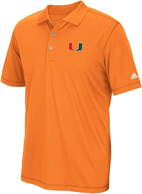 adidas Miami Hurricanes NCAA Pure Motion Climalite – Polo para ...
